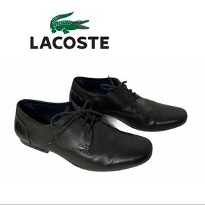 Lacoste Black Henri CLM Oxford Shoes